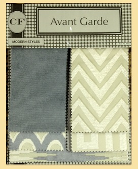 Avant Gard Fabric Book