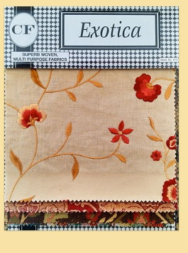 Exotica Fabric Collection